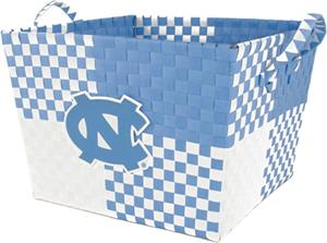 Eagles Wings NCAA North Carolina Woven Basket