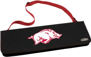 Picnic Time University of Arkansas Metro BBQ Set