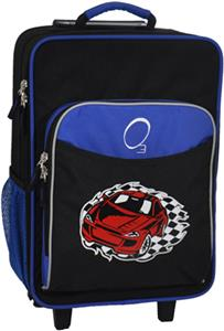O3 Kids Racecar Suitcase With Cooler