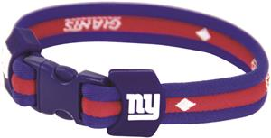 Eagles Wings NFL NY Giants Titanium Sport Bracelet