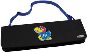 Picnic Time University of Kansas Metro BBQ Set