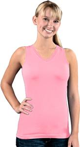 LAT Sportswear Jr Racer Back Longer Length Tank