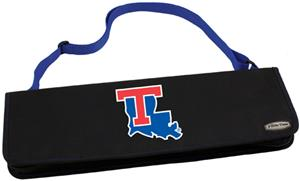 Picnic Time Louisiana Tech Bulldogs Metro BBQ Set
