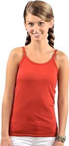 LAT Sportswear Jr Spaghetti Strap Long Length Tank