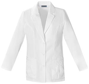 Cherokee Women&#39;s Pin Tuck Scrub Lab Coats
