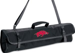 Picnic Time University of Arkansas 3-Pc BBQ Set