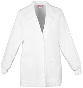"Cherokee Women's 30"" Scrub Warm-Up Lab Coats"
