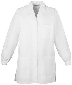 "Cherokee Women's 32"" Knit Cuff Scrub Lab Coats"