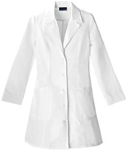 Cherokee Women&#39;s 36&quot; Notch Collar Scrub Lab Coats
