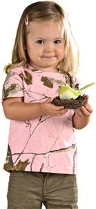 LAT Sportswear Toddler Realtree Camo T-Shirt