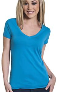 Cotton Heritage Ladies Signature V-Neck Tee