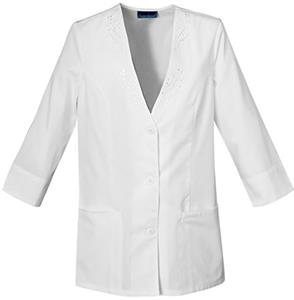 Cherokee Women&#39;s Fashion 3/4 Sleeve Scrub Jackets