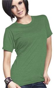 Cotton Heritage Ladies Cross Dyed Baby Doll Tee
