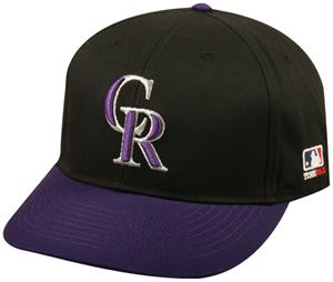 OC Sports MLB Colorado Rockies Alternate Cap
