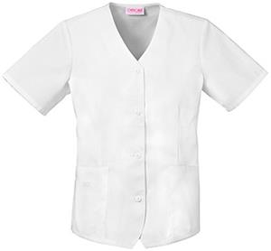 Cherokee Women's Fashion Weskit Scrub Tops