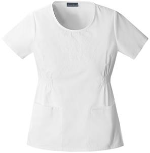 Cherokee Women's Fashion Round Neck Scrub Tops