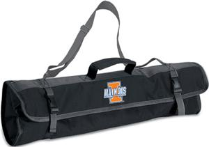 Picnic Time University of Illinois 3-Pc BBQ Set