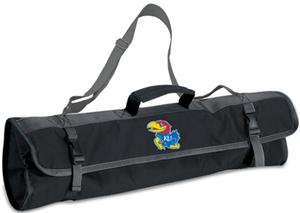 Picnic Time University of Kansas 3-Pc BBQ Set