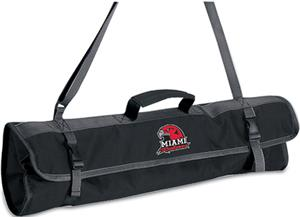 Picnic Time Miami University (Ohio) 3-Pc BBQ Set