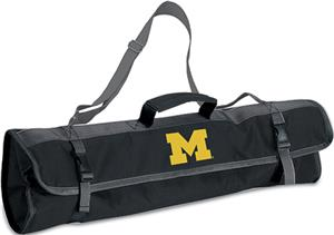 Picnic Time University of Michigan 3-Pc BBQ Set