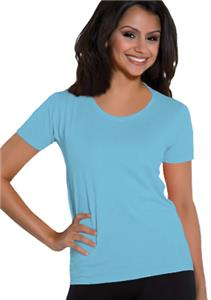 Cotton Heritage Ladies Scoop Neck Tee