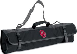 Picnic Time University of Oklahoma 3-Pc BBQ Set