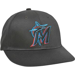 OC Sports MLB Miami Marlins Home Cap w/CF2 Visor