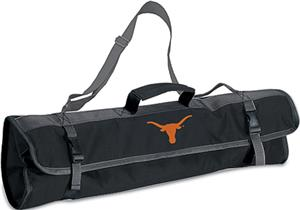 Picnic Time University of Texas 3-Pc BBQ Set