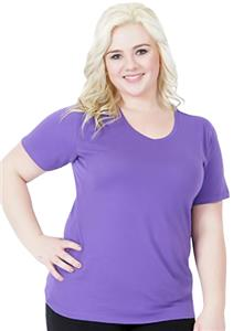 Cotton Heritage Missy V-Neck Tee