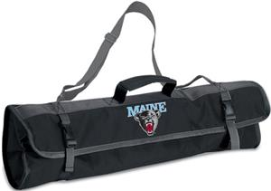 Picnic Time University of Maine 3-Pc BBQ Set