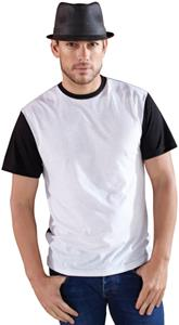 LAT Sportswear Adult Polyester Blackout T-Shirt