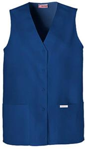 Cherokee Women's Fashion Button Down Scrub Vests