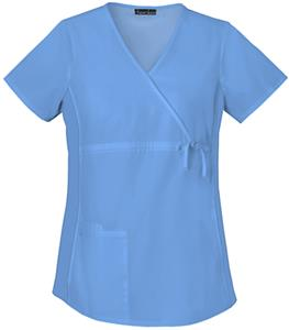 Cherokee Flexibles Maternity Wrap Scrub Tops
