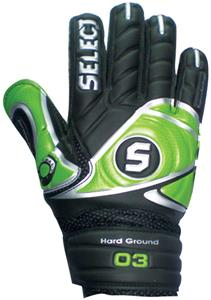 Select 03 Hard Ground Youth Soccer Goalie Gloves
