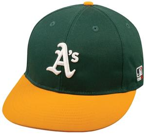 The OC Sports MLB Oakland Athletics Home Cap