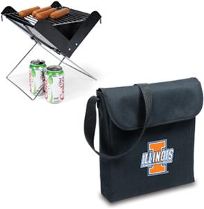 Picnic Time University of Illinois V-Grill &amp; Tote