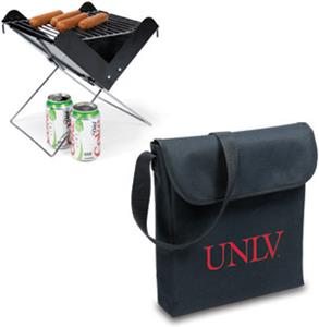 Picnic Time UNLV Rebels Portable V-Grill &amp; Tote