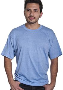 Cotton Heritage Men&#39;s Cross Dyed Heathers Tee