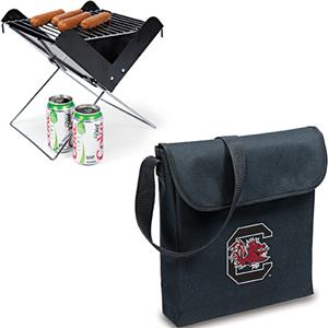 Picnic Time South Carolina Portable V-Grill & Tote