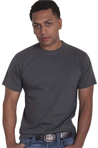 Men&#39;s Crew Neck Basic Ringspun Tee