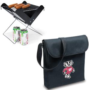 Picnic Time University of Wisconsin V-Grill & Tote