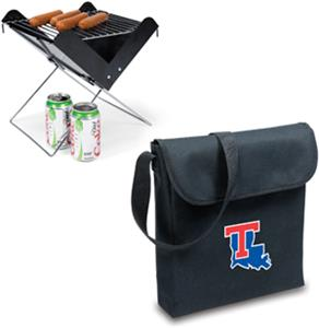 Picnic Time Louisiana Tech Bulldogs V-Grill & Tote