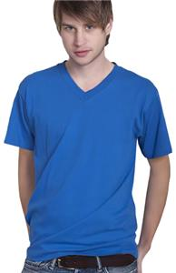 Cotton Heritage Men's Basic V-Neck Tee