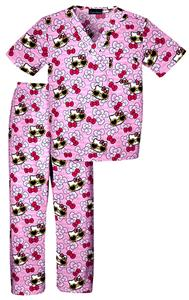 Cherokee Kid's Tooniforms Scrub Top and Pant Sets
