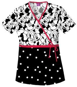Cherokee Tooniforms Big Minnie Scrub Tops