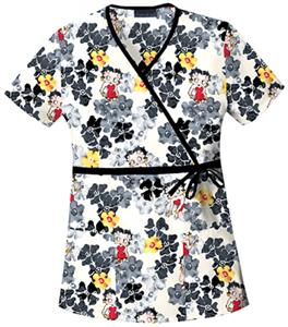 Cherokee Tooniforms Betty Grey Gardens Scrub Tops