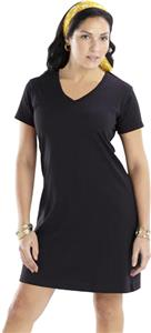 LAT Sportswear Ladies V-Neck T-Shirt Dress