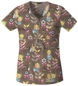 Cherokee Tooniforms Life Is Bee-U-Tiful Scrub Tops