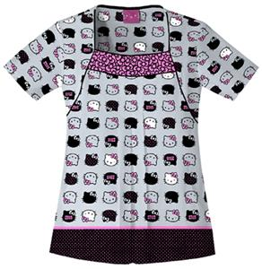 Cherokee Tooniforms Hello Kitty Scrub Tops