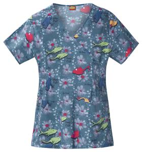 Cherokee Tooniforms One Fish Scrub Tops
